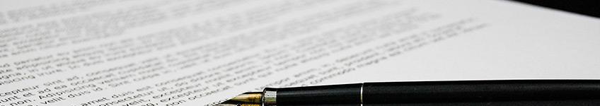 תרגום מסמכים מקצועי עם עט