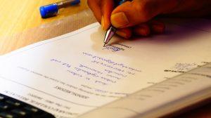 תרגום מסמכים מקצועי בכתב יד